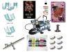 Airbrush Nailart Fingernagel Komplett Set Standard + DVD