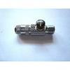 """Schnellkupplung NW 2,7mm regulierbar m.G1/8"""" Außengwinde"""