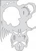 Artool Schablone Skullmaster / The Frontal