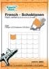 French Schablonen selbstklebend / FR5501 Rund Flach
