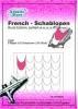 French Schablonen selbstklebend / FR5502 Rund Extrem